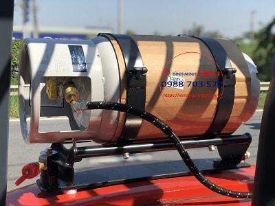 bình nhiên liệu gas trên xe nâng
