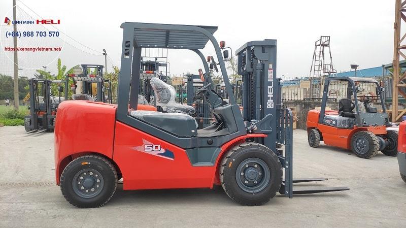 xe nâng 5 tấn dòng H3 series