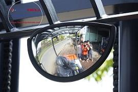 gương chiếu hậu xe nâng điện