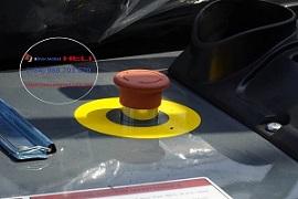 nút an toàn xe nâng điện