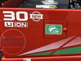 cổng sạc xe nâng điện 3 tấn pin lithium