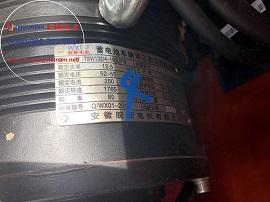 Motor điện xoay chiều pin lithium hiệu Heli