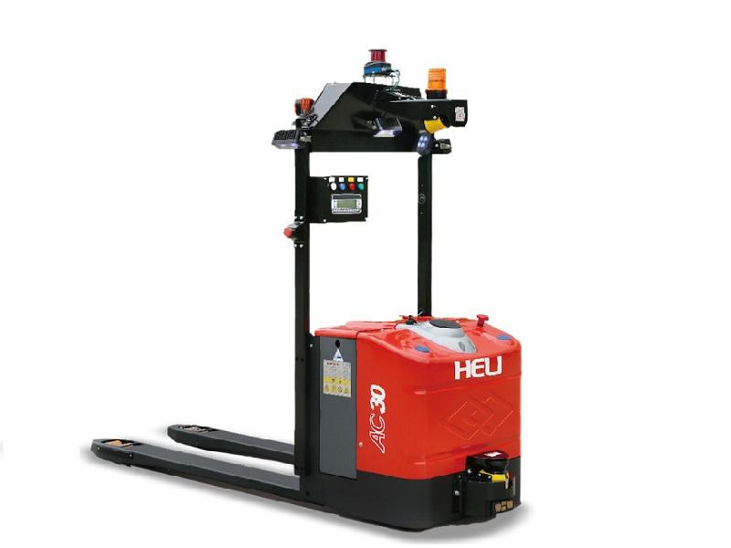 xe nâng tay điện tự động AGV heli