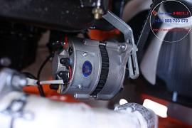 máy phát điện trên xe nâng dầu heli 5 tấn