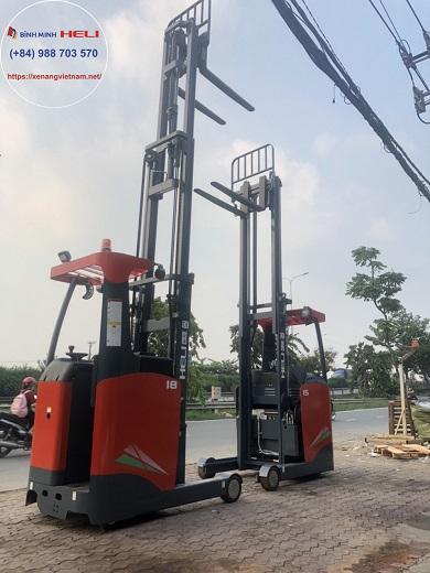 Reach truck đứng lái 1.5-1.8 tấn